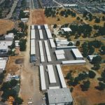 Aerial map of our storage facility